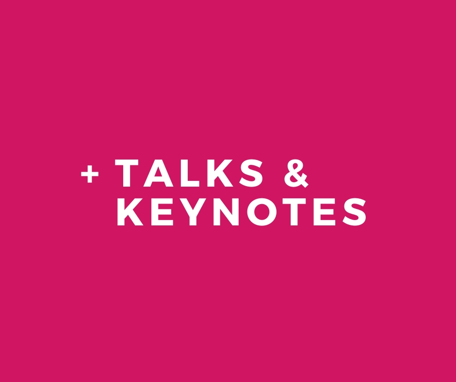 Skidmore Consulting - Talks & Keynotes